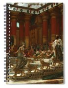 The Visit Of The Queen Of Sheba To King Solomon Spiral Notebook