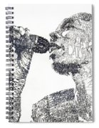 Maxi Jazz Spiral Notebook