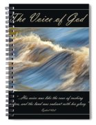 The Voice Of God Spiral Notebook