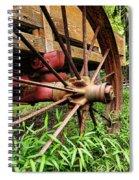 The Wagon Wheel Spiral Notebook