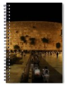 The Wailing Wall  Spiral Notebook