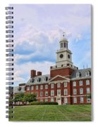 The Waksman Institute Of Microbiology Spiral Notebook