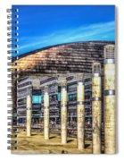 The Wales Millennium Centre Spiral Notebook