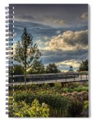 The Walking Path Spiral Notebook