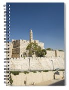 The Walls Of Jerusalem Old Town Israel Spiral Notebook