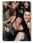 The Wanderers In New Orleans Spiral Notebook
