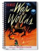 The War Of The Worlds Spiral Notebook