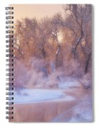 The Warmth Of Winter Spiral Notebook