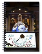 The Watchmaker At Sal Street Spiral Notebook