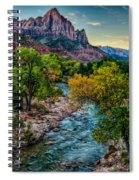 The Watchman At Sunrise Spiral Notebook