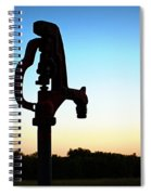 The Water Hydrant Spiral Notebook