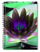 The Water Lilies Collection - Photopower 1116 Spiral Notebook