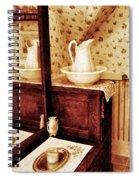 The Water Pitcher And Wash Basin Spiral Notebook