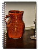 The Water Pitcher Spiral Notebook