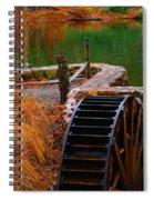 The Water Wheel Spiral Notebook