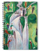 The Waterfall Spiral Notebook