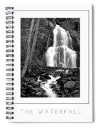 Moss Glen Falls Poster Spiral Notebook
