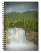 The Waterfall... Spiral Notebook