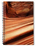 The Wave Layers Of Time Spiral Notebook
