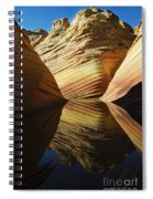 The Wave Reflected Beauty 2 Spiral Notebook