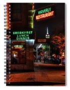 The Waverly Diner And Empire State Building Spiral Notebook