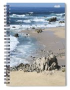 The Waves - The Sea Spiral Notebook