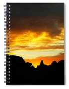 The Way A New Day Shines Spiral Notebook