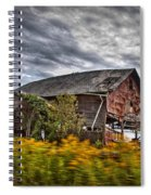 The Weathered Barn Spiral Notebook
