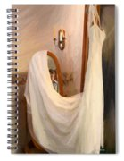 The Wedding Gown Is Ready Spiral Notebook