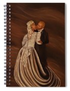 The Wedding Kiss Spiral Notebook