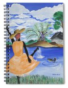 The Welcome River Spiral Notebook