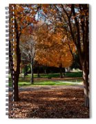 The Well In The Distance-davidson College Spiral Notebook