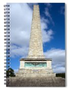 The Wellington Monument Spiral Notebook