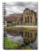 The Welsh Abbey Spiral Notebook
