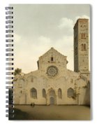 The West Facade Of The Church Of Saint Mary In Utrecht Spiral Notebook