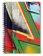 The West Side Of The Wall Spiral Notebook
