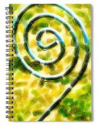 The Wet Whirl  Spiral Notebook