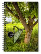 The Wheelbarrow Spiral Notebook