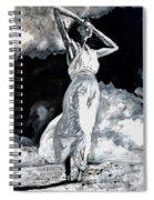 The White Deer Spiral Notebook
