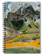 The White Horse In Spring  Spiral Notebook