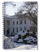 The White House In Winter Spiral Notebook