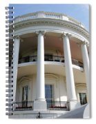 The White House South Portico Spiral Notebook