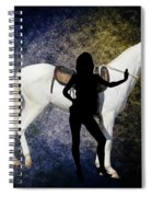 The White Mule Spiral Notebook