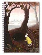 The White Rabbit Spiral Notebook