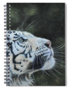 The White Tiger And The Butterfly Spiral Notebook