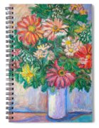 The White Vase Spiral Notebook