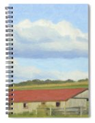 The Whole Farm To Himself Spiral Notebook