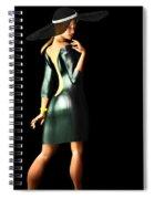 The Widow II... Spiral Notebook