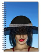 The Widow... Spiral Notebook