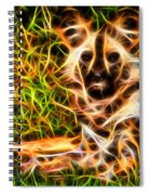 The Wildness In Me  Spiral Notebook